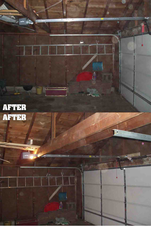 How to install garage opener Photo - 1