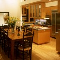 Kitchen with dining room Photo - 1