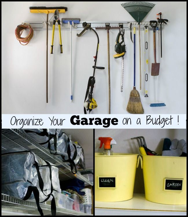 Organizing garage on a budget Photo - 1
