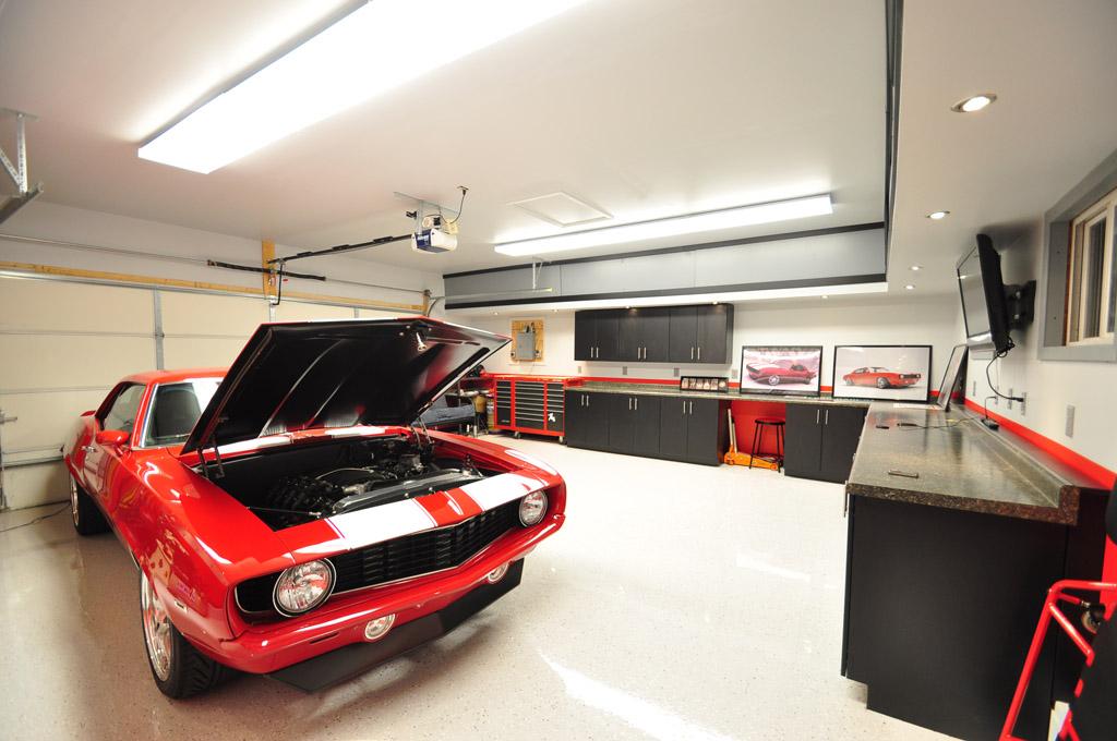 Outside garage lighting Photo - 1