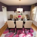 Purple dining rooms Photo - 1