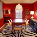 Red dining room ideas Photo - 1
