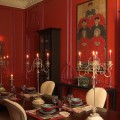 Red dining rooms Photo - 1
