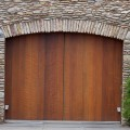 Replace garage door with french doors Photo - 1