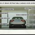 Screen door for garage door opening Photo - 1