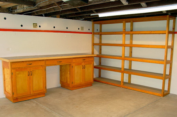 Shelving plans for garage Photo - 1