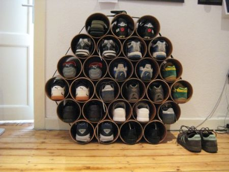 Shoe rack ideas for garage Photo - 1