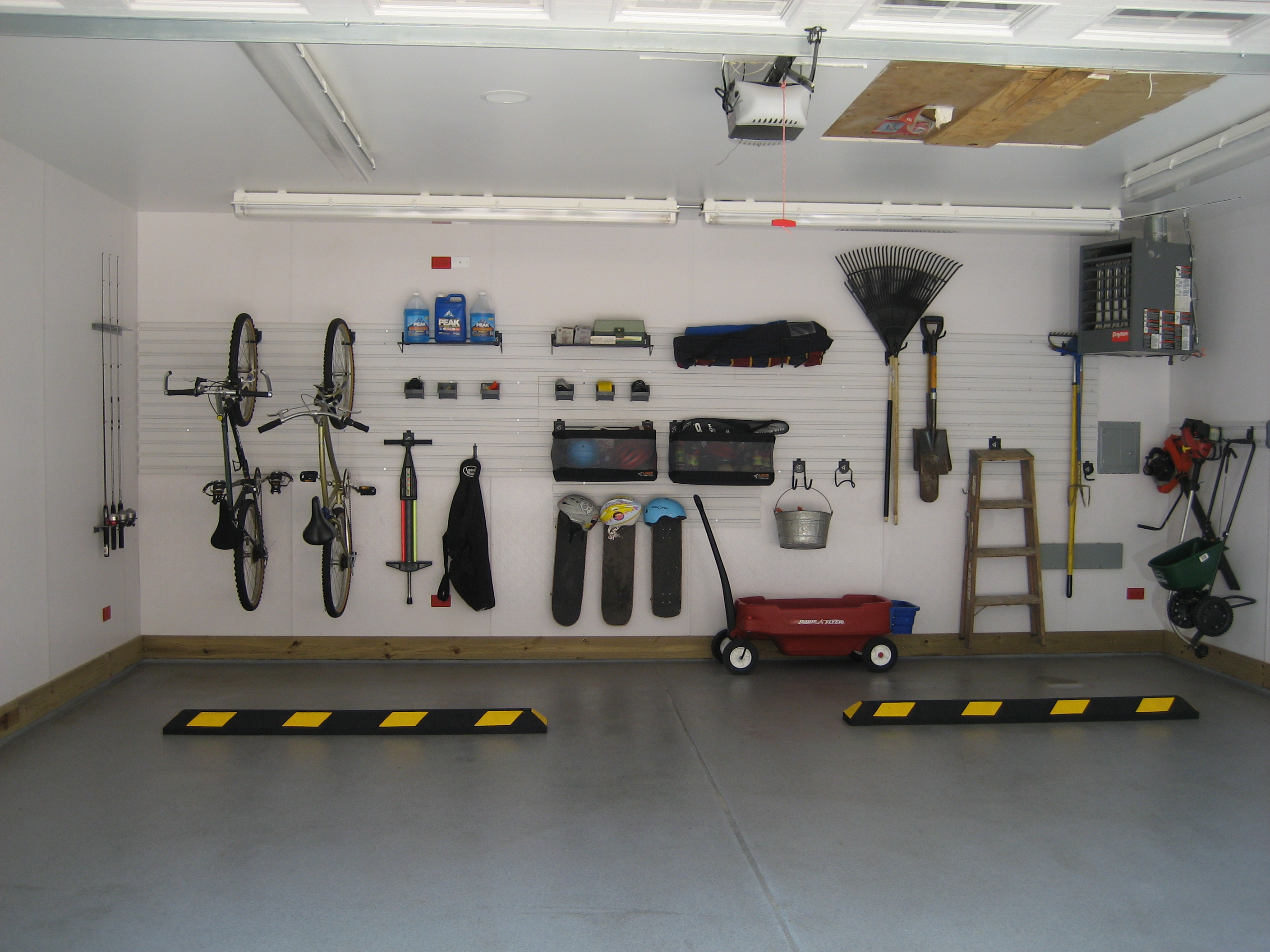 Tips for organizing your garage - large and beautiful photos ...