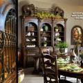 Tuscan dining room decor Photo - 1