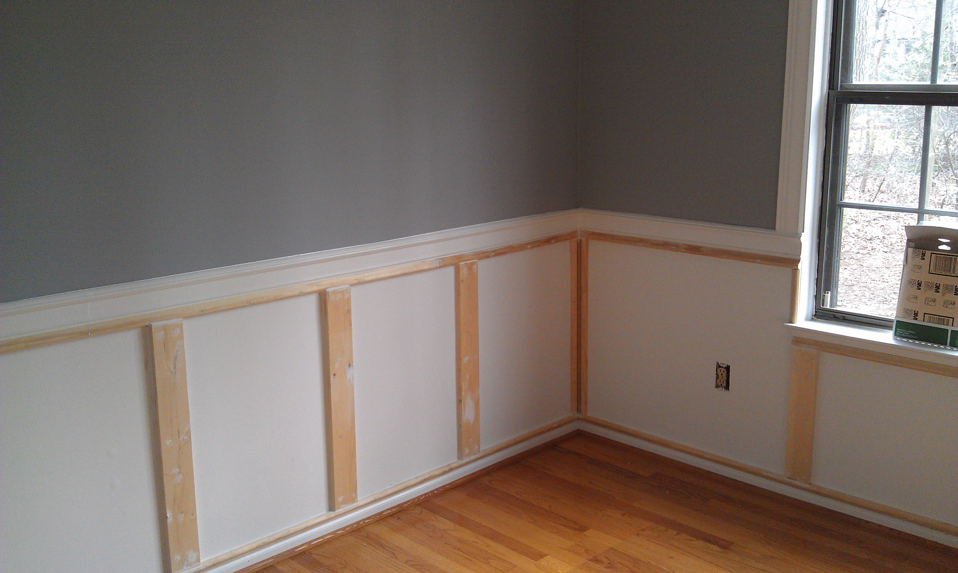 Wainscoting ideas for dining room Photo - 1