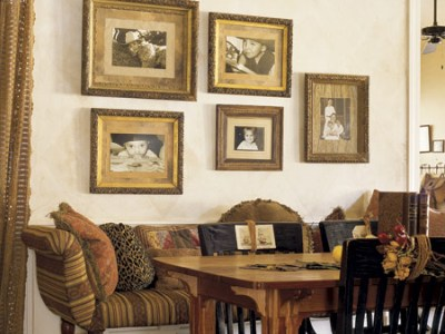 Wall decorations for dining room Photo - 1