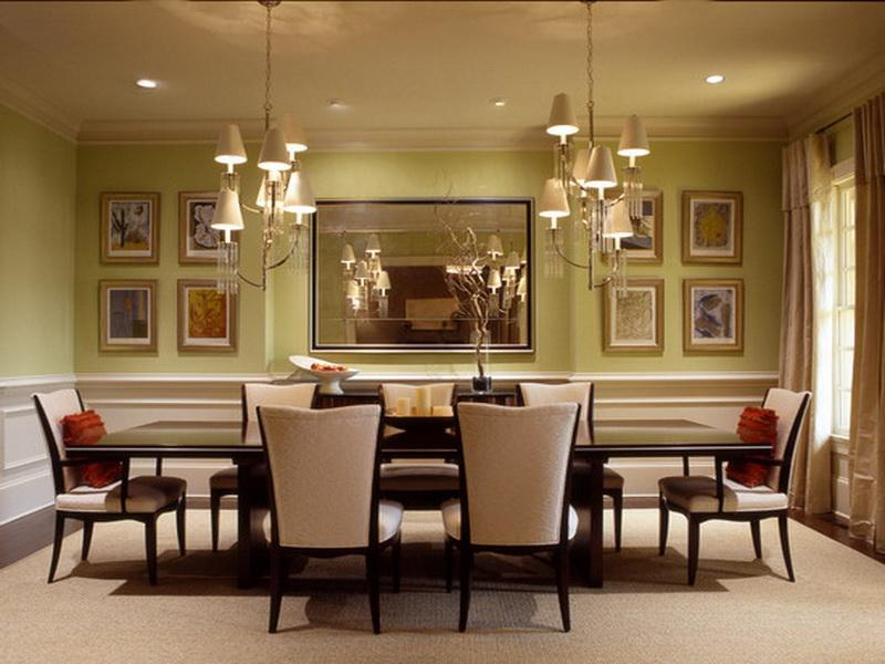 wall ideas for dining room