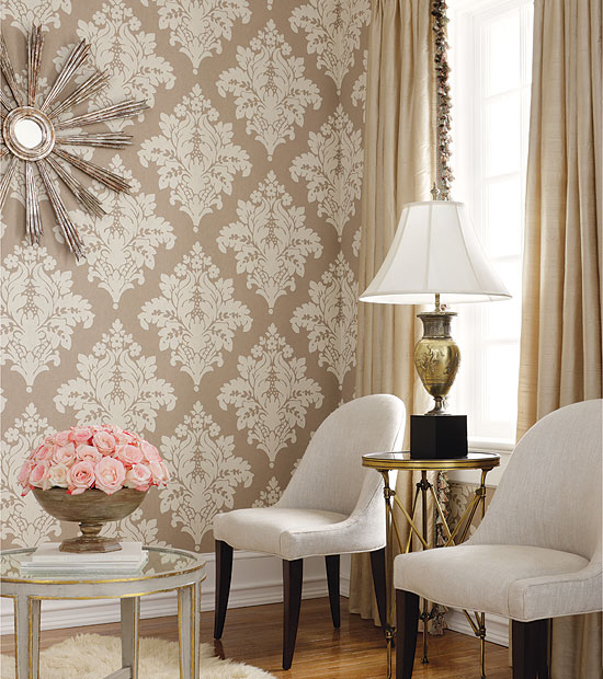 Wallpaper designs for dining room Photo - 1
