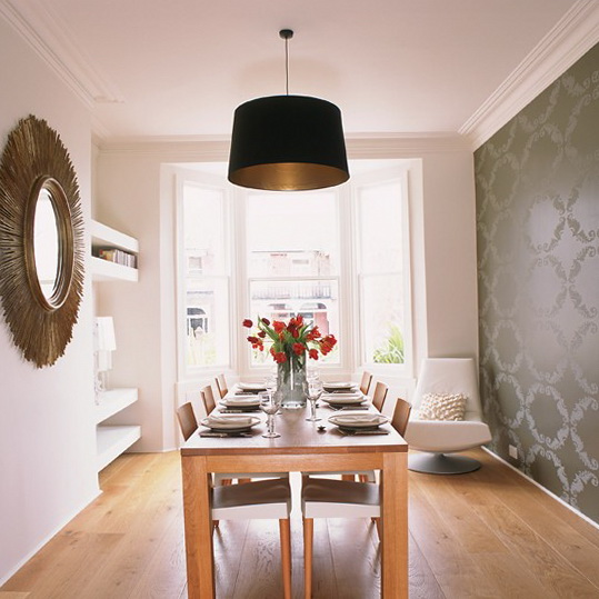 Wallpaper for dining rooms Photo - 1