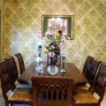 Wallpaper ideas for dining room Photo - 1