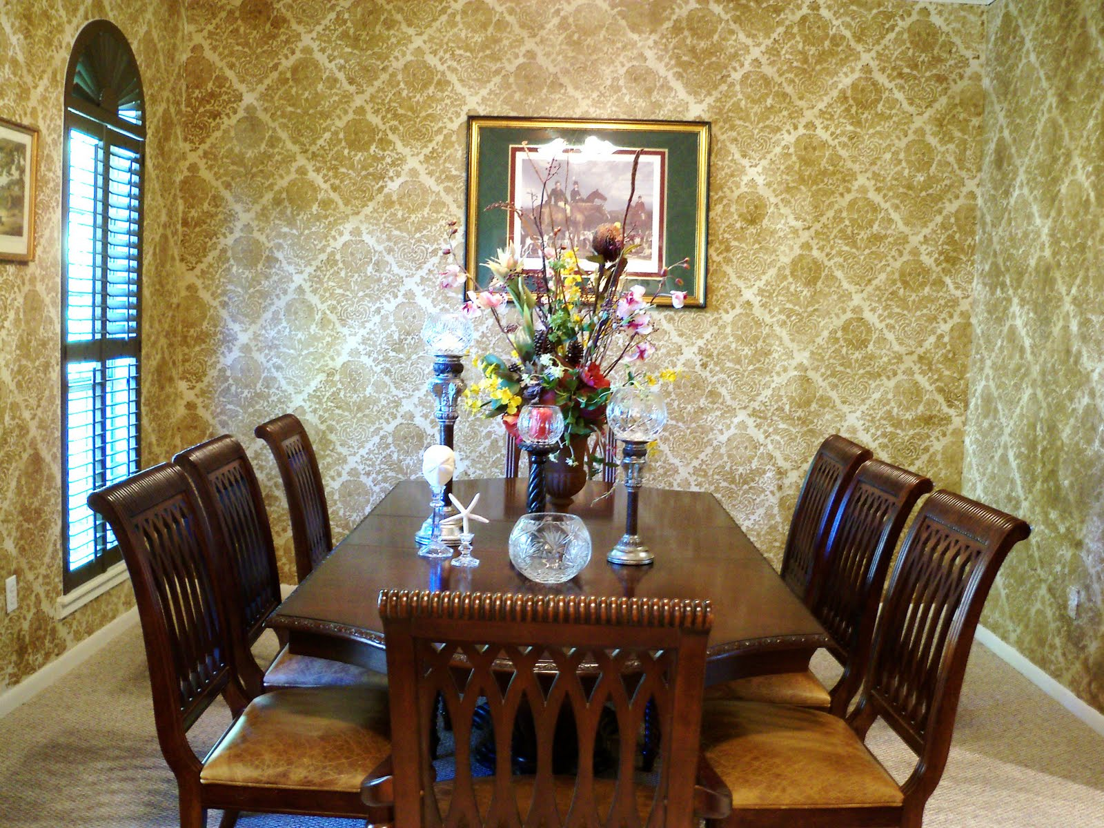 Dining room archives design your home for Wallpaper room ideas