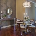 Wallpaper in dining room Photo - 1