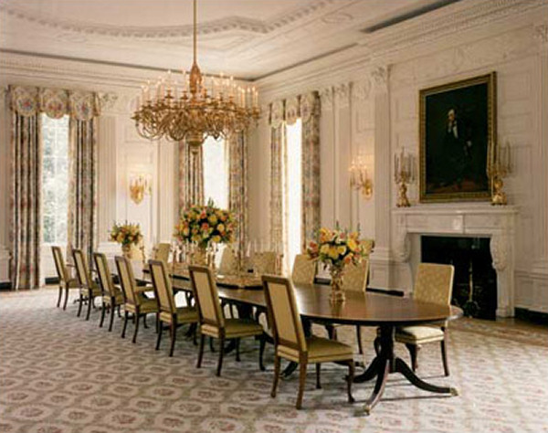 White dining rooms Photo - 1