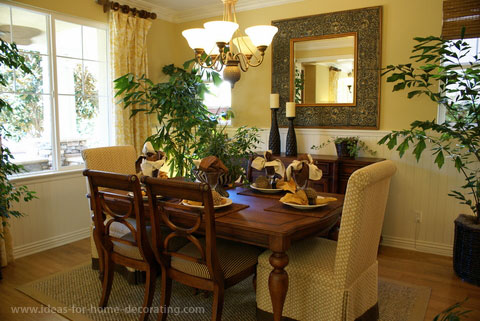 Yellow dining rooms Photo - 1