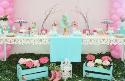 Garden party baby shower ideas Photo - 1