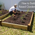 How do you make a raised garden bed Photo - 1
