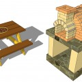 Backyard pizza oven plans Photo - 1
