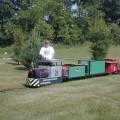 Backyard train Photo - 1