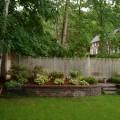 Backyard wall ideas Photo - 1