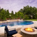 Backyard with pool design ideas Photo - 1
