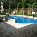 Backyard with pool landscaping ideas Photo - 1