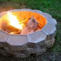 Build a backyard fire pit Photo - 1