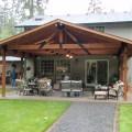 Covered backyard patio Photo - 1