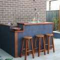 Diy backyard bar Photo - 1