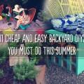 Diy cheap backyard ideas Photo - 1