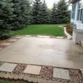 Do it yourself backyard patio Photo - 1