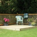 Easy backyard patio Photo - 1