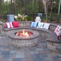 Fire pit ideas backyard Photo - 1