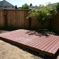 How to build a backyard deck Photo - 1