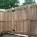 How to build a backyard fence Photo - 1