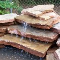 How to make a backyard waterfall Photo - 1