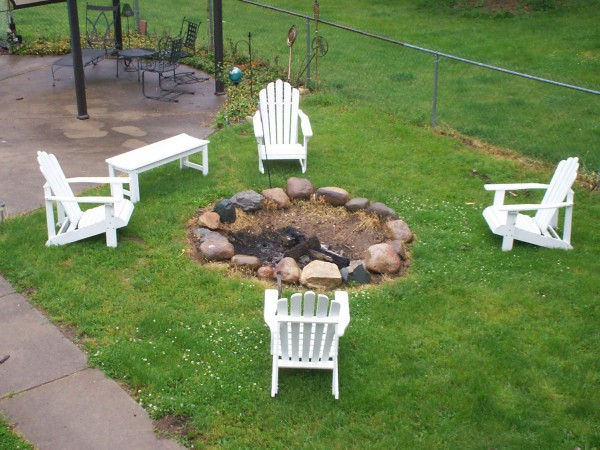 how to make a simple fire pit in your backyard large and