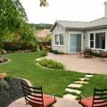 Landscape ideas for backyard on a budget Photo - 1