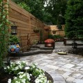 Narrow backyard landscaping ideas Photo - 1