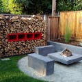 Pictures of fire pits in a backyard Photo - 1