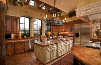 Cabinet colors for small kitchens Photo - 1