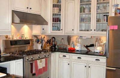 Cabinets for small kitchens Photo - 1