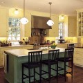 Small kitchen islands with stools Photo - 1