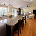Small kitchen table with bar stools Photo - 1