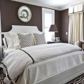 Grey color schemes for bedrooms Photo - 1