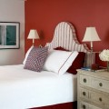 Red walls bedroom Photo - 1